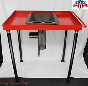 Pre-order Fff Fabricated Blacksmith Coal Forge Complete With Firepot Usa Made