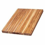 Teakhaus By Proteak Edge Grain Carving Board W/hand Grip Rectangle | 24 X ...