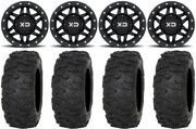 Kmc Machete Beadlock 15 Wheels 33 Roctane Xr Tires Yamaha Yxz1000r