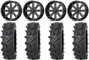 Msa Milled Flash 20 Wheels 35 Outback Maxand039d Tires Polaris Rzr Turbo S / Rs1