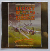 [rare] Signed - And039secret Weapons Over Normandyand039 - Michael Giacchino [cd Cover]