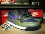 Sale Nike Wildwood Acg Midnight Navy Court Purple 2019 Leather Blue Ao3116 400