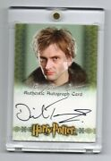 David Tennant Artbox Harry Potter Autograph Auto Barty Crouch Jr. Goblet Of Fire