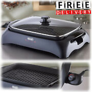 Indoor Electric Grill Bbq Outdoor Portable Smokeless Adjustable Barbecue