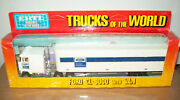 Ertl 1452 Trucks Of The World Ford Cl-9000 And Van Vgc With Box