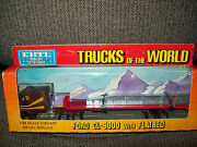 Ertl 1450 Trucks Of The World Ford Cl-9000 Truck And Flatbed Used Condition