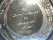 Epca Silverplate Candy Dish Bowl Poole Silber Company