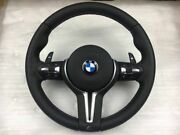 Bmw Steering Wheel With Pedals M5 F10 F11 F18 F06 F12 Heating + Vibro Dual Stage