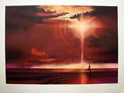 Spirit Of Sport 6 Original Prints By Robert Peak Autographed By Sports Icons