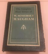 The Complete Short Stories Of W. Somerset Maugham 2 Volumes Set 1934/1952 Hc