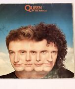 Lp Queen Error - Reversed Labels- Brazilian . And Signatures On Cover Unknown
