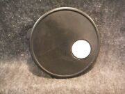 Tupperware 3702 Black Replacement Vent N Serve Seal 7 3/4 Round Marks On Top