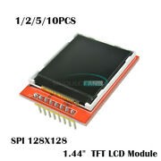 1/2/5/10x Red 1.44 128x128 Spi Color Tft Lcd Display Module Replace Nokia 5110