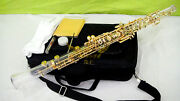 Roffee Semi Automatic Gold /silver Plated Crystal Transparent Body Oboe