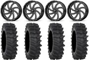 Msa Milled Switch 20 Wheels 36 Xm310r Tires Can-am Defender