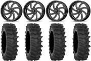 Msa Milled Switch 20 Wheels 35 Xm310r Tires Can-am Renegade Outlander