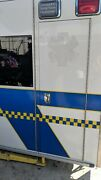 Ambulance Side Storage Access Compartment Door 25x73 Or 73x25