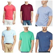 Polo Menand039s T-shirt M L Xl Or 2xl Soft-touch Tee New 49.50