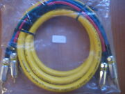 Wireworld Chroma 5 Component Video Crc 2.0b 4 Ft Cable Oxygen Free Copper - F...