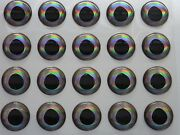 400 X 10 And 14mm Real Fish Eyes For Fly Tying,lure,flies,pike,bass,d
