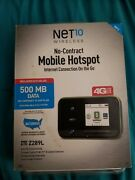 Net10 Wireless No-contract Mobile Hotspot Internet Connection On The Go Nib