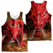 Anne Stokes Dragons Lair Dye Sublimation Adult Tank