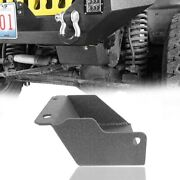 Fit Jeep Wrangler Tj 97-06 Black Protection Front Steering Box Skid Plate