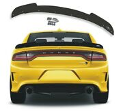 10 1 Pc 2015+ Dodge Charger Wicker Bill Spoiler By Psdesigns Srt Combo Pack