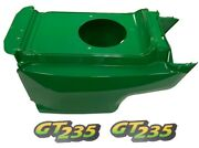 Lower Hoodand Set Of2 Decals Replaces Am132688 M126056fits John Deere Gt235low S/n