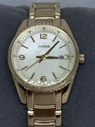 Fossil Bq1075 Justine Unisex Silver Stainless Steel Analog Dial Wrist Watch E61