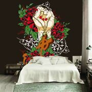 Gold Cross Necklace 3d Full Wall Mural Photo Wallpaper Printing Home Kids Decor