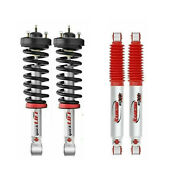 Rancho Front Quicklift Struts Rs9000xl Rear Shocks For Nissan Titan 4wd 2wd