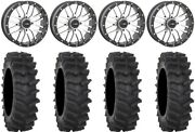 System 3 St-3 Machined 20 Wheels 34 Xm310r Tires Pioneer 1000 / Talon