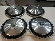 70s 80s 1981 81 Ford F 100 Hubcaps Oem Set 15 Inch
