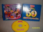 Fisher Price Little People 50 Sing-along Classics And Halloween Cd Lot