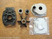 Water Pump Kit 46-8m0113799 Mercury Outboards With Upper And Lower Housings
