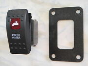 Fresh Water Switch With Psc11bk Panel Carling V1d1 1 Red Lens Black Contura Ii
