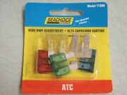 Fuse Atc High Amp Assortment 10 15 20 25 30 Amp Pac Of 5 Fuses 11386 Blade Type