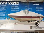 Boat Cover V-hull Runabouts Low Profile 50-97351 Boats 21ft To 23ft 105 Beam