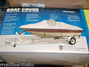 Boat Cover V-hull Runabouts Low Profile 50-97331 Boats 17ft To 19ft 102 Beam