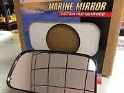 Mirror Suction Cup 626 11050 Skiing Boating Wakeboarding Safety Boat Marine Gear