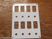 Switch Panel Fits 8 Carling Contura Switches And Breakers White Psbc42wh Boat