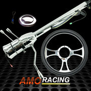 28 Auto Steering Column Gm And 14 Half Wrap Steering Wheel And Smooth Horn Button