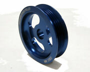 Obx Precision Overdrive Pulley For 1998-2002 Chevy Cavalier Z24 2.4lblue