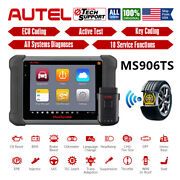 Autel Maxisys Ms906ts Obd2 Car Wireless Diagnostic Scanner Tpms Service Tool