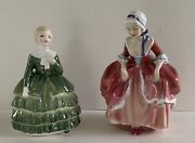 Vintage Royal Doulton Belle And Goody Two Shoes Figurines
