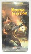 Missing In Action Vhs 1985 Chuck Norris Rated R Ntsc 1992 Design Package