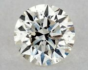 Gia Graded Round Natural Loose Diamond 0.72 Ct H Color Si1 Clarity Free Shipping