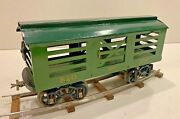 Reproduction Gauge 2 Voltamp 2114 Stock Car By John Harmon With Cast Iron Wheels