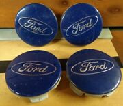 Set Of 4 Ford Edge Escape Fiesta Focus Fusion 11-16 Oem Center Cap 6m21-1003-aa